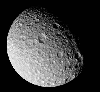 Surface of Mimas
