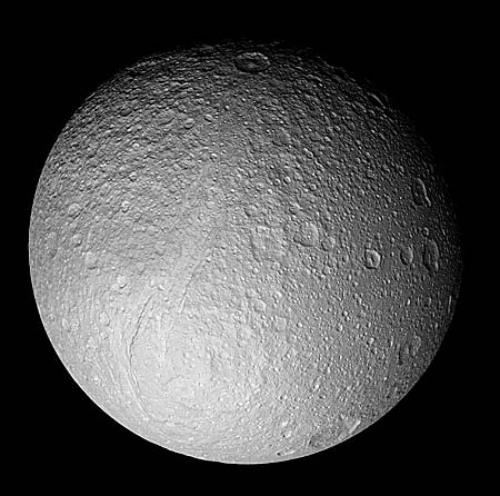 surface of Tethys