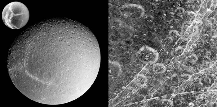 surface of Dione